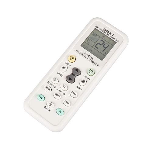Weiye Klimagerät Fernbedienung AC Control LCD Universal Conditioning Controller 1000 in 1 für Mitsubishi Toshiba Hitachi FUJITSU Daewoo LG Sharp Samsung ELECTROLUX SANYO