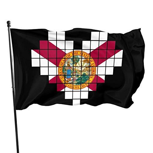 Zudrold Banderas al Aire Libre Bandera de Florida Bandera para fanáticos de los Deportes Fútbol Baloncesto Béisbol Hockey