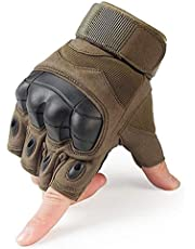 YANODA Pantalla Táctil Nudillo Duro Táctico Guante De Dedo Completo Ejército Combate Militar Senderismo Al Aire Libre Caza Deporte