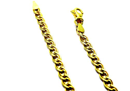 Collana Oro Giallo 18kt (750) Catena Pantera Cm 50 Uomo