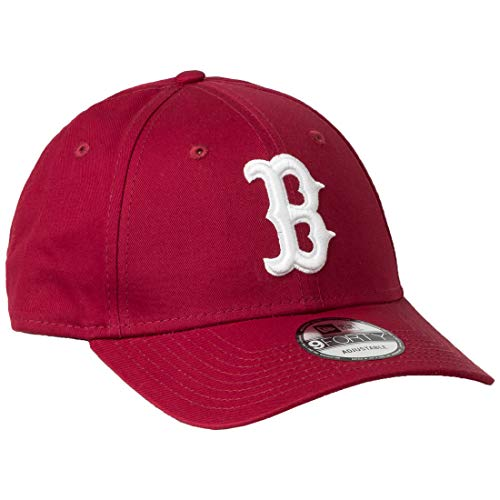A NEW ERA Era Boston Red Sox 9forty Adjustable Cap League Essential Cardinal/White - One-Size