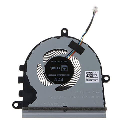 Replaced CPU Cooler Fan for 15 5570 5575 Laptop Cooling Fan, Gpu CPU Cooling Fan Cooler