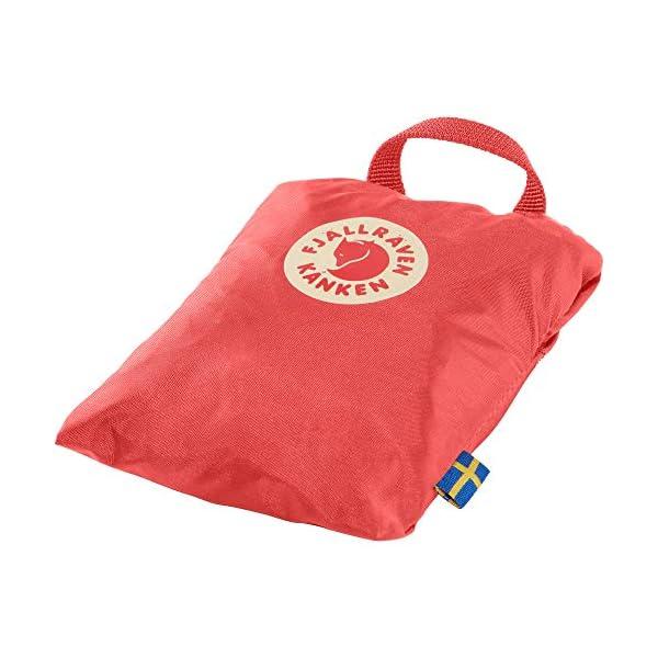 41vuB0LkzJL. SS600  - FJÄLLRÄVEN Kånken Rain Cover Funda para mochila, 5 cm, Rosa (Peach Pink)