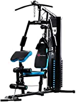 PowerMax Fitness GH 285 Multi Station Home Gym., blue/black, one size