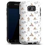 DeinDesign Coque Compatible avec Samsung Galaxy S7 Edge Coque renforcée Coque Antichoc Winnie...
