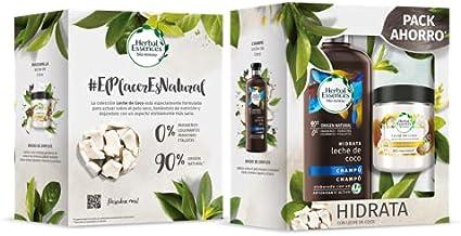 Herbal Essence Pk Champú+mascarilla, Blanco, Coco, 6 Unidad