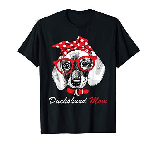 Mamma bassotto divertente per Doxie Dog Lovers Maglietta
