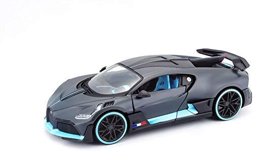Bugatti Chiron Divo Maisto Modelauto 1:24 grijs