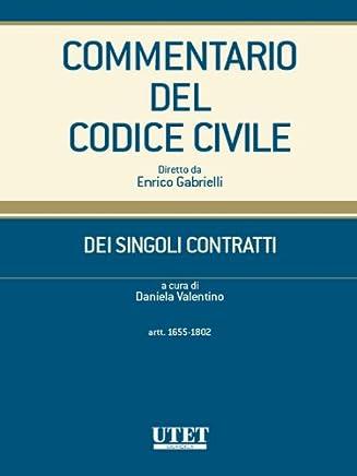 Dei singoli contratti - artt. 1655-1802