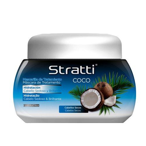 Stratti Coco - Mascarilla Hidratación con Keratina - 550 gr