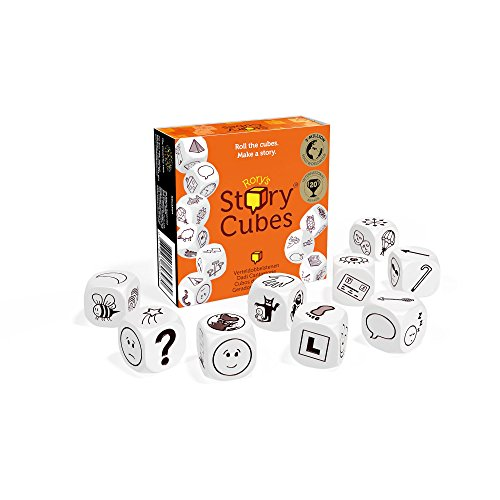 Creativity Hub The RSC-Shrink Rory's Story Cubes -Multicolor