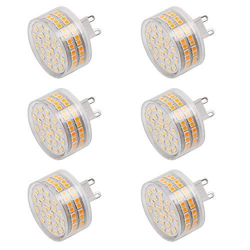 Preisvergleich Produktbild MENGS 6 Stück G9 LED Lampe 800lm Leuchtmittel Brine 12W LED Mais Licht Ersatz 95W Halogenlampen 3000K Warmweiß 360 ° Abstrahlwinkel CRI>80,  AC 220-240V