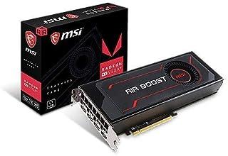 MSI オリジナル外排気クーラー搭載 AMD Radeon RX Vega 56 搭載 グラフィックスカード OCモデル Radeon RX Vega 56 Air Boost 8G OC