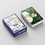 Bts Lomo Cards 55 Pcs bts 2021 Feast lomo card Bangtan Boys postal BANGTAN Boys Merchandise Lomo Tarjetas Fotos Regalos para Ejército