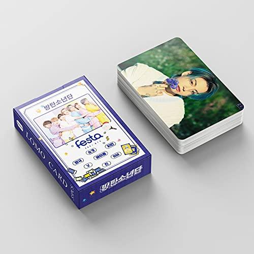 Bts Lomo Cards 55 Pcs bts 2021 Feast lomo card Bangtan Boys postal BANGTAN Boys...