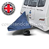 Deluxe caravan A frame towing hitch cover, waterproof reinforced PVC, made in the