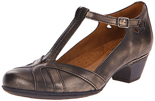 Rockport Cobb Hill Women's Angelina Dress Pump, Metallic, 6 W US