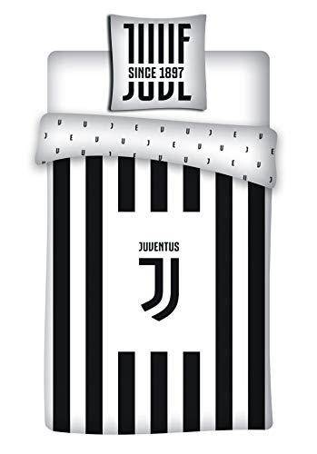 cuscino juventus bambino Juventus - Parure da letto: copripiumino 140 x 200 cm