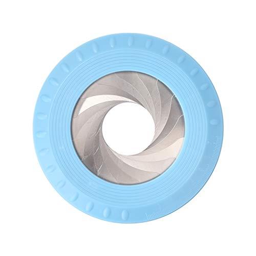 Sweo Kreiszeichen-Werkzeug, flexibel, verstellbar, Zeichnen, Lineal, Holzbearbeitungswerkzeug, blau, One size