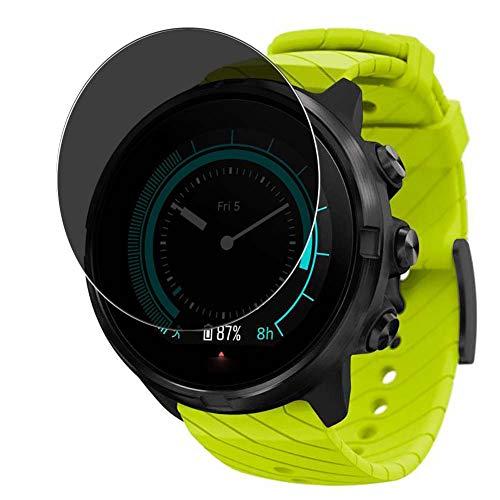 Vaxson Anti Spy Schutzfolie, kompatibel mit Suunto 9 G1 smartwatch Smart Watch, Displayschutzfolie Bildschirmschutz Privatsphäre Schützen [nicht Panzerglas]