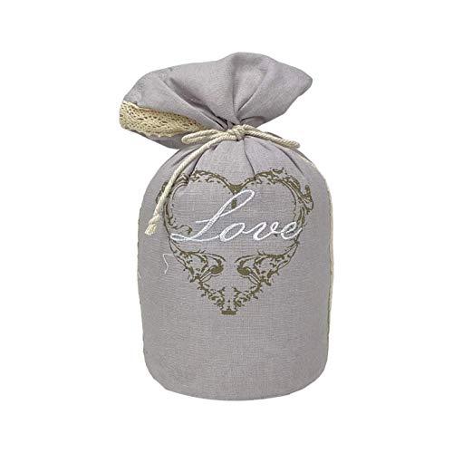 Homevibes Sujeta Puerta Decorativo Peso 1 kg Diferentes Modelos con Frases Ideales para Decoracion (Love)
