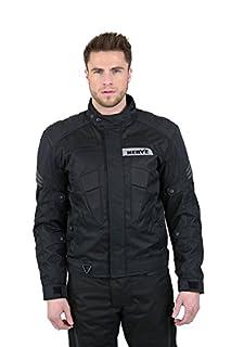 NERVE 1511156004_04 Biker Motorcycle Jacket, Black, Large (B00PNPGVC8) | Amazon price tracker / tracking, Amazon price history charts, Amazon price watches, Amazon price drop alerts