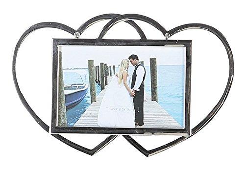 Casablanca - Fotorahmen - Love Memories - Metall - Farbe: Silber - 16 x 25 cm