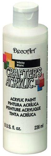 DecoArt Crafters Peinture acrylique Blanc