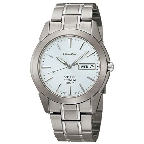 Seiko SGG727P1 - Orologio da uomo, argento