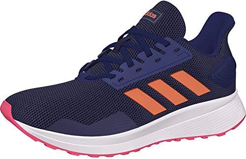 Adidas Duramo 9 K, Zapatillas de Running Unisex Adulto, Multicolor (Azuosc/Semcor/Rosrea 000), 38 EU