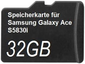 32gb Speicherkarte Für Samsung Galaxy Ace S5830i Computer Zubehör