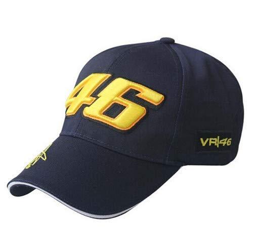 Vinteen Otoño y del invierno 46 gorra de béisbol del casquillo del bordado de carreras de motos de movimiento al aire libre del sombrero de los hombres y mujeres forman movimiento gorra de béisbol Oci