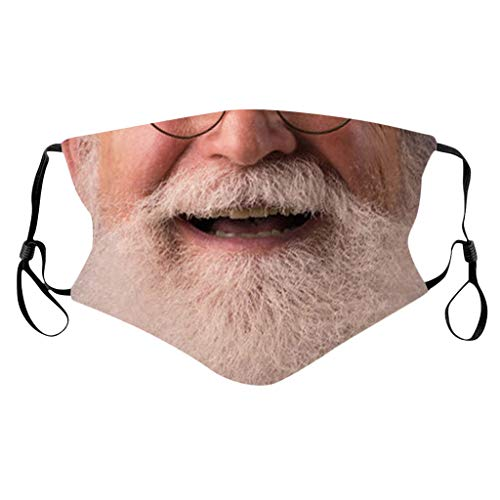Lomelomme Lustig Mundschutz Bandanas Waschbar 3D Motiv Staubdicht Mund und Nasenschutz Wiederverwendbare Atmungsaktiv Halstuch (Cd, One size)