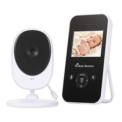 DT Vídeo Digital Video Wireless Baby Monitor de Audio Monitor de bebé con Monitorización de la Temperatura bidireccional de Audio Canciones para niños Video Vigilancia Seguridad Cuna