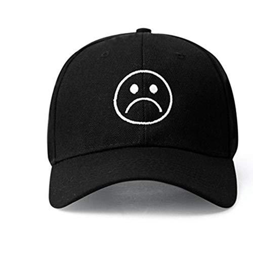 Sombrero ajustable para niños tristes Gorra de béisbol con cara de llanto...