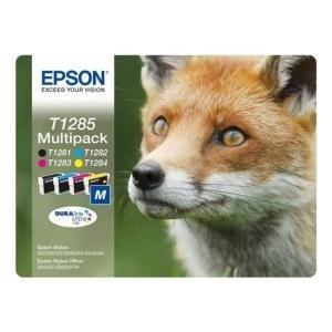 Fox Epson T1285 Schwarz und Farbe