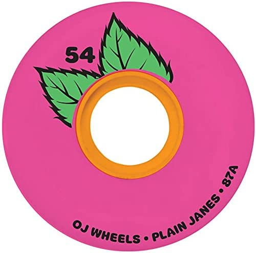 OJ III Skateboard Wheels Spring 2021 spring and summer new new work one after another Plain Keyframe 54mm 87A Jane Pink