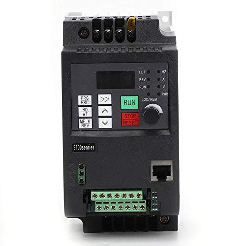 Frequenzumrichter,VFD Frequenzumrichter Solar Wechselrichter VFD DC Photovoltaik Frequenzumrichter PWM Steuerung DC400-700V Eingang dreiphasig 0-380VAC Ausgang DC Photovoltaik Wechselrichter(0,75 kW)
