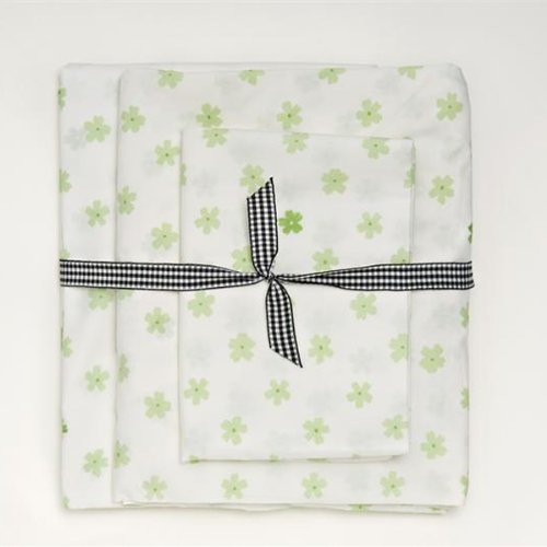 Whistle and Wink Blossom Dot Twin 3 Piece Sheet Set