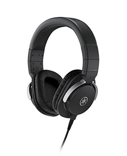 Yamaha HPH-MT8 Cuffie da Studio Over Ear, Cuffie Monitor Professionali, Pieghevoli, con Cavo da 3 m, Cavo a Spirale da 1.2 m e Jack Adattatore Stereo Standard da 6.3 mm, Nero