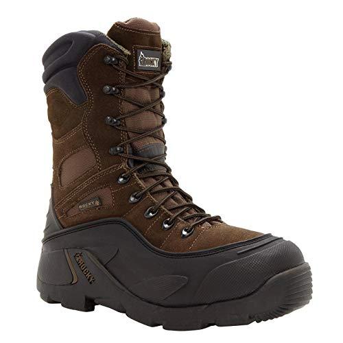 Rocky FQ0007465 Men's BRN 9' RWP Steel Toe Men'sS WHOLE 10 Work Boots Brown