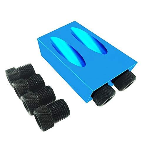 outingStarcase 14 / 15pcs / Set Mini Bolsillo Agujero Jig Kit Sistema de carpintería Paso Broca Accesorios Trabajo Conjunto de Madera for Trabajar la Madera Dropshipping Herramientas (Color : C 1PC)