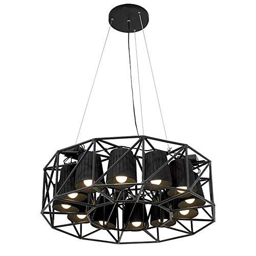 SELETTI 'Lampe en métal Append. avec 12 Lampes multilamp-Ring Ø cm.77 H.22