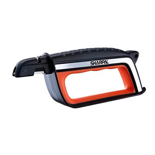 SHARPAL 103N All-in-1 Knife Garden Tool Multi-Sharpener for Lawn Mower Blade, Axe, Hatchet, Machete, Pruner, Hedge Shears, Scissors