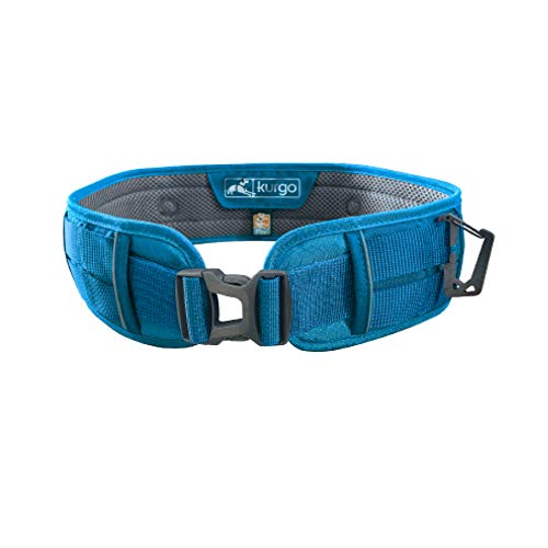 Kurgo Hands Free Dog Running Belt, Leash Waist Belt for Dogs, Crossbody Walking Belt for Dogs, Reflective, MOLLE Compatible, for Jogging & Hiking, RSG Utility Belt & Sling Thing