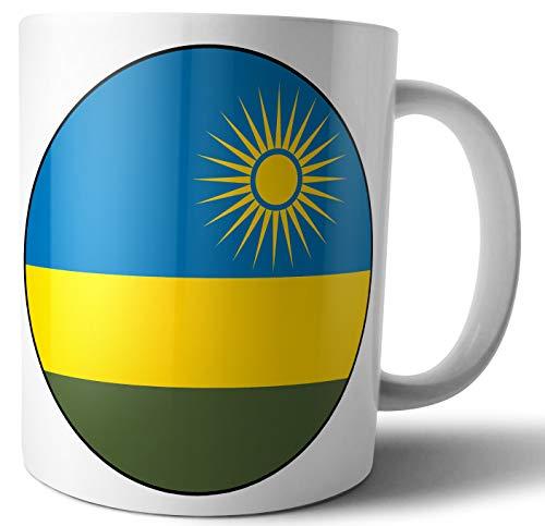 Flagge Ruandas – Tee – Kaffee – Tasse – Geburtstag – Weihnachten – Geschenk – Secret Santa – Strumpffüller