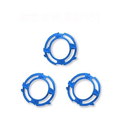 3pcs Shaver Heads Holder Plate For Philips Norelco 5000 Series S5205 S5210 S5320 S5340 S5380 S5390 S5400 Blade Retaining Rings