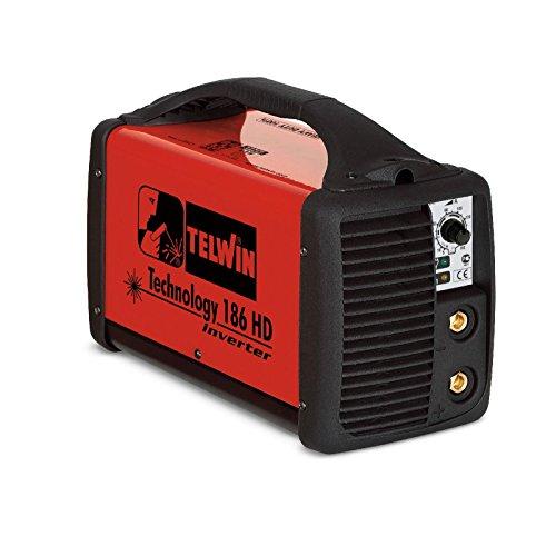 Telwin Soldador inverter electrodo soldadura MMA tecnology 186HD