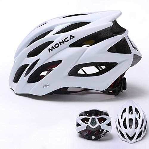 JM- Mountainbike Fahrradhelm integrierter Formhelm Helm Fahrradhelm Straßenreiterhelm (Color : C)