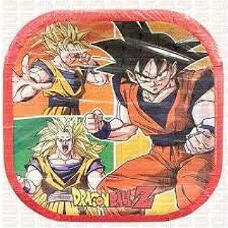 Dragon Ball Z Party Plates Lunch Birthday Decoration Asian Birthday Boy 6PCS